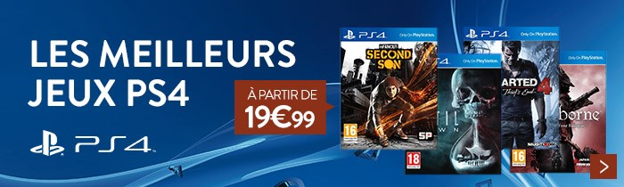Baisse de prix jeux PS4