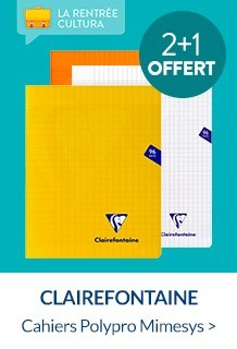 fournitures scolaires et cahiers