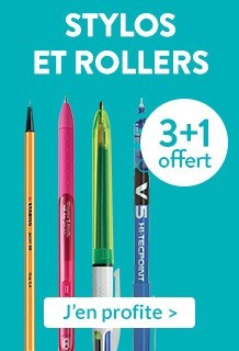 Stylos et rollers