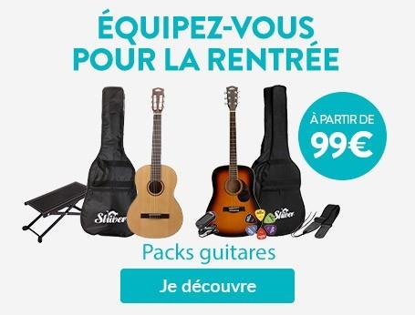 Packs guitares
