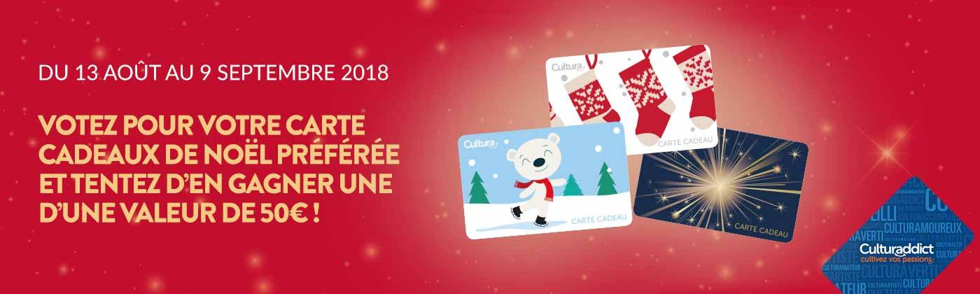 Votez pour votre carte cadeau de Noël préférée