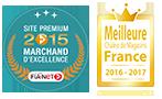Cultura Marchand d'Excellence 2015 / Meilleure chaine de magasin en France