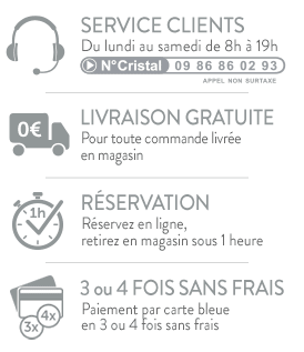 Livraison gratuite en magasin