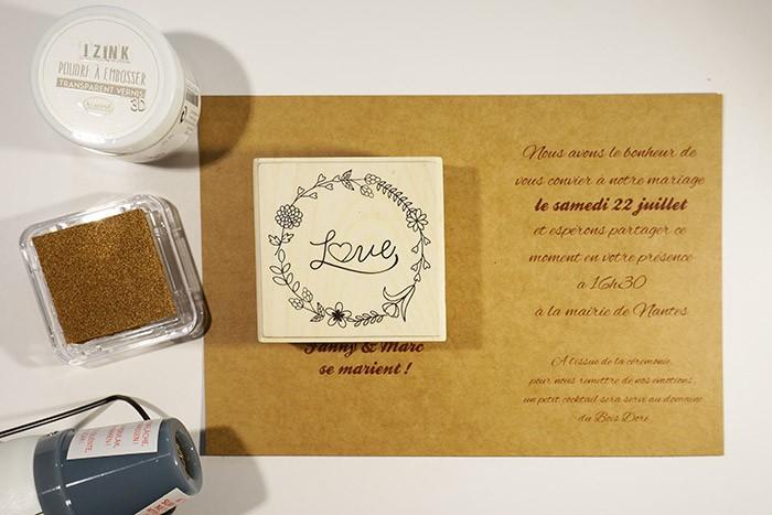 Evf Faire Part Mariage Tutos Diy Mariage Tutos Pas à