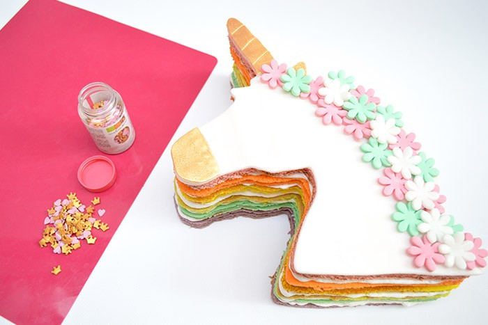 Je M Eclate Rainbow Cake Licorne Loisirs Creatifs