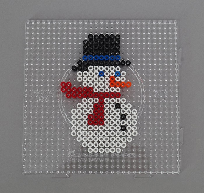 Perle à Repasser Noël Suspensions De Noël En Perles à Fabriquer