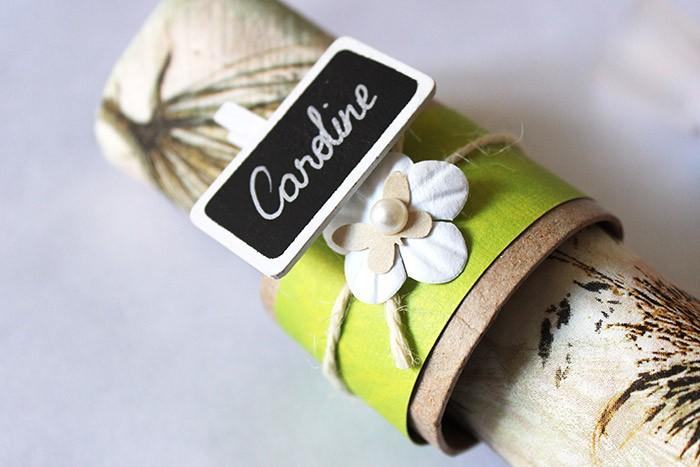 Rond de serviette Nature - Loisirs Créatifs Mariage - Cultura