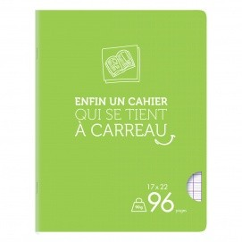 Cahiers petits formats 17*22