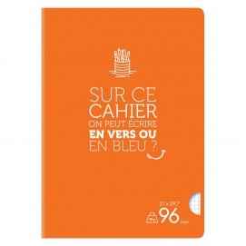 Cahiers formats A4 21*29.7