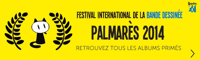 Palmarès 2014 du Festival d'Angoulême
