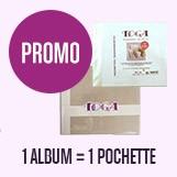 promotion toga 1 album = 1 pochette