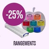 promotion -25% sur boites rangement scrap
