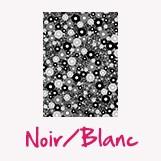 feuille décopatch couleur noir blanc