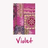 feuille décopatch couleur violet