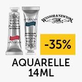 - 35% sur la gamme aquarelle Winsor & Newton 14ml