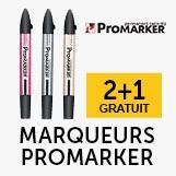 Marqueurs Promarker 2+1 gratuit