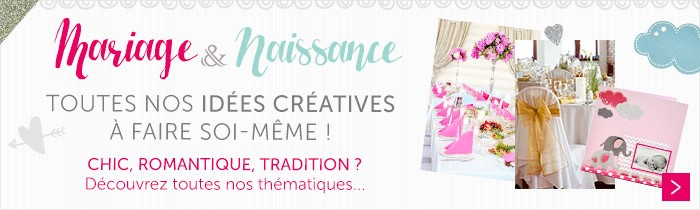 Mariage - Naissance fiches créatives