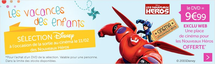 DVD Disney à 9.99€