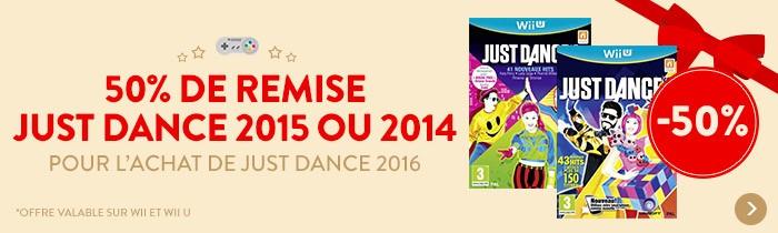 Just Dance à -50%