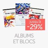 Albums blocs jusqu'à - 29%