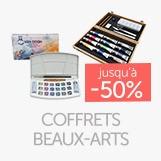 Accédez à la boutique coffrets beaux-arts et profitez de promotions jusqu'à - 50%