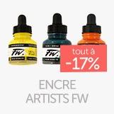 Gamme encres artists à - 17%