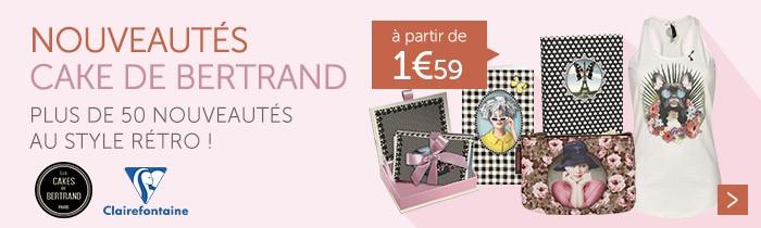 Découvrez notre collection Les Cakes de Bertrand à partir de 1.59€