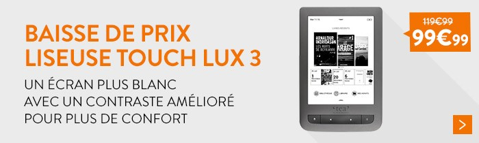 Liseuse Touch Lux 3
