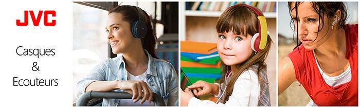 Casque et écouteurs JVC