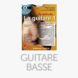 partitions de basse et de guitare