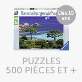 Puzzles 500 pièces et plus
