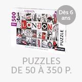 Puzzles de 50 à 350 pièces