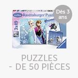 Puzzles moins de 50 pièces
