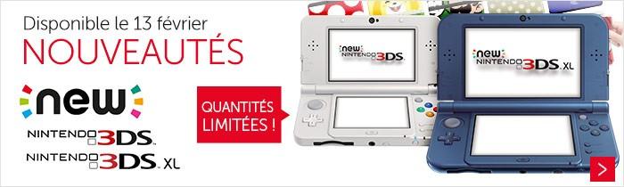 Console New 3DS et 3DSXL