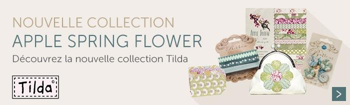 TILDA Nouvelle Collection apple spring flower