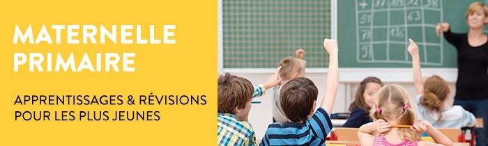 Maternelle Primaire: Apprentissage et Révisions pour les plus Jeunes