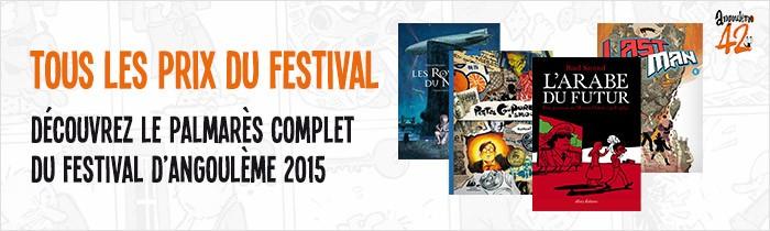 Palmarès 2015 du Festival d'Angoulême