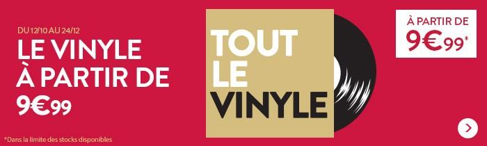 Vinyles à partir de 9.99€