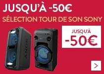 Promos tours de son Sony