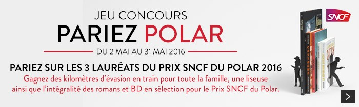 Jeu Concours Polar SNCF et Cultura