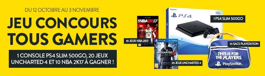 Jeu Concours Tous Gamers