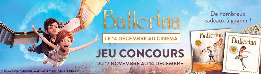 Ballerina jeu concours Cultura