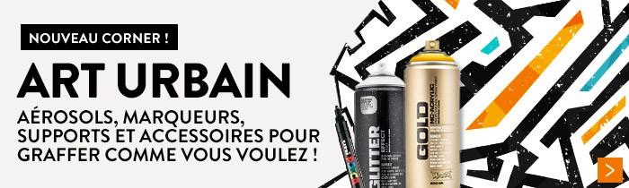 découvrez notre boutique regroupant tous le matériel de graffeur