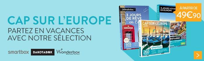 Séjours en Europe