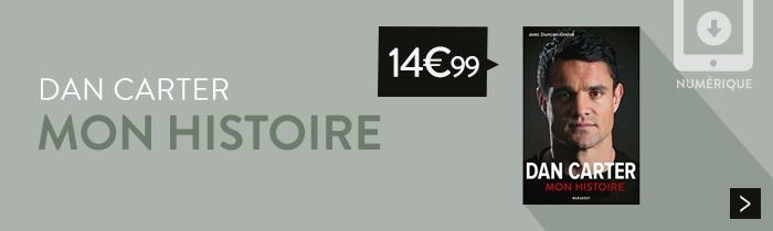 Dan Carter - Mon Histoire à 14,99€