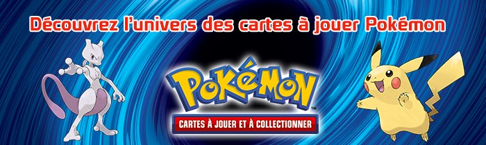 Univers Cartes à Jouer Pokémon