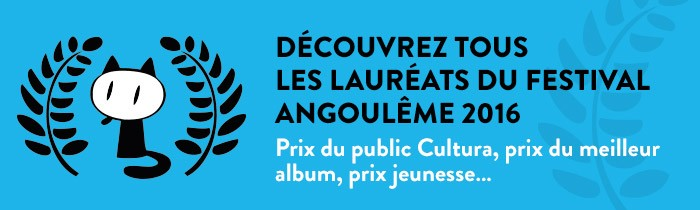 Palmarès 2016 du Festival d'Angoulême