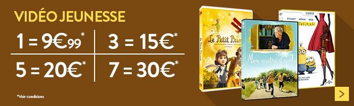 3 DVD = 15€