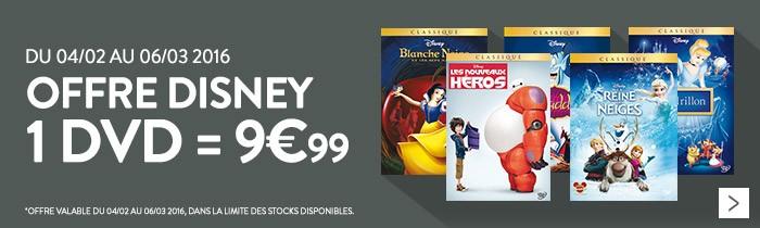 Disney à 9.99€