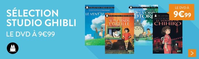 Studio Ghibli DVD à 9.99€